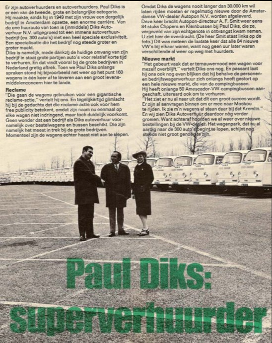 Paul Diks: Superverhuurder.